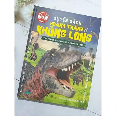 Quyển Sách Hoành Tráng Về Khủng Long - Tặng Bookmark Thiết Kế Aha Siêu Đẹp