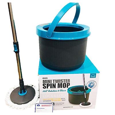 Bộ Lau Nhà Lock&Lock Mini Twister Spin Mop Xoay 360 Độ HPP345