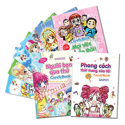 Combo 8 Cuốn Candy Book 2