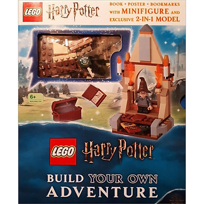 LEGO Harry Potter Build Your Own Adventure: With LEGO Harry Potter Minifigure and Exclusive Model - LEGO Build Your Own Adventure (Hardback) (English Book)