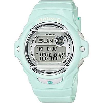 Casio BG169R-3 Baby G Women's Watch Light Mint 46mm Resin