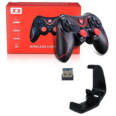 Tay cầm chơi game không dây cho máy tính, laptop, android tivi - GP X3