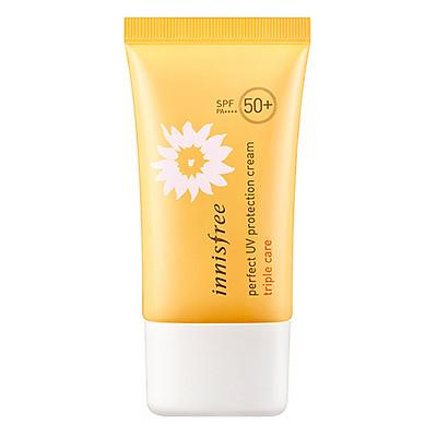 Kem Chống Nắng Toàn Diện Đa Chức Năng Innisfree Perfect Uv Protection Cream Triple Care Spf50+ Pa++++ (50ml)