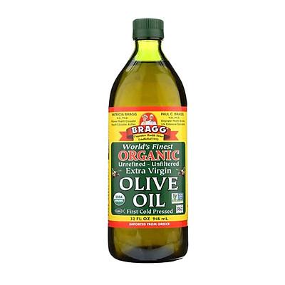 Dầu Olive hữu cơ ép lạnh nguyên chất Extra Virgin - Bragg
