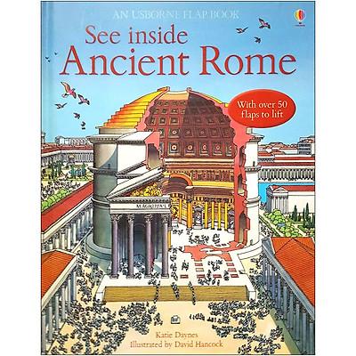 Sách tương tác tiếng Anh - Usborne See Inside Ancient Rome