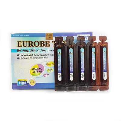 Siro EUROBE TEX Bổ sung chất xơ hòa tan, hỗ trợ tiêu hóa, giúp nhuận tràng, giảm tình trạng táo bón - Hộp 20 ống x10ml