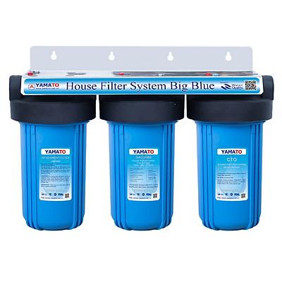Bộ lọc nước đầu nguồn chung cư Yamato 10 inch Bigblue (béo) 3 cấp lọc tiêu chuẩn (YBH10P5GC)