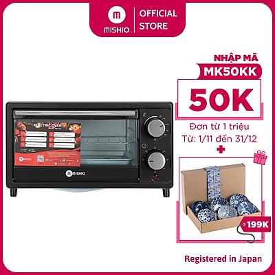 Lò nướng Mishio MK177 14L – Màu đen - Hàng chính hãng