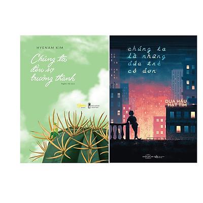 Combo 2 Cuốn Sách: Chúng ta đều sợ trưởng thành + Chúng ta là những đứa trẻ cô đơn