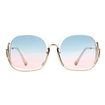 Fashion Oversized Sunglasses Sun Glasses Eyewear Cool Light Blue