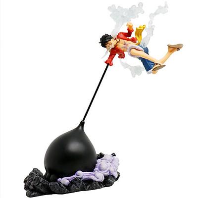 Mô hình One Piece Luffy gear 3 mũ rơm nắm đấm haki siêu khổng lồ