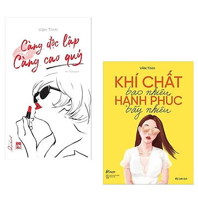 Combo Cẩm Nang Sống Cho Qúy Cô Hiện Đại: Càng Độc Lập Càng Cao Quý + Khí Chất Bao Nhiêu, Hạnh Phúc Bấy Nhiêu (Bộ 2 Cuốn / Tặng Kèm Bookmark Happy Life)