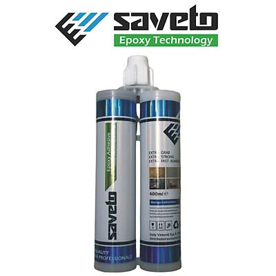 Keo chít mạch Saveto Epoxy màu trắng sứ - Hàng chính hãng