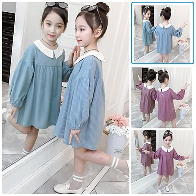 VL94 Size110-160 (15-40kg) đầm cho bé gái, kiểu dáng công chúa Thời trang trẻ Em hàng quảng châu