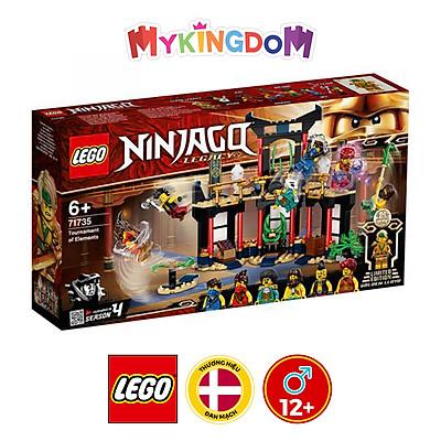 Đồ chơi LEGO Ninjago Giải Đấu Của Những Bậc Thầy 71735