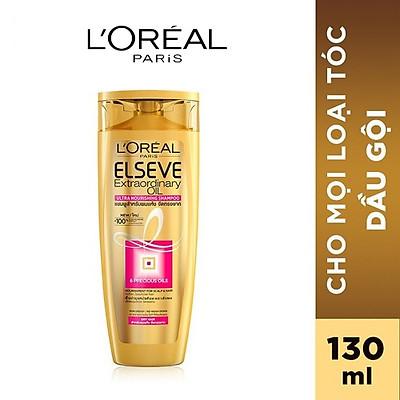 Dầu gội chiết xuất tinh dầu hoa tự nhiên L'Oreal Paris Elseve Extraordinary Oil Ultra Nourishing 130ml