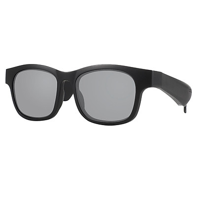 Bone Conduction Smart Glasses Sunglasses Bluetooth Headphones,Open Ear Audio Sunglasses Speaker to Listen Music and Make Phone Calls