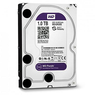 Ổ cứng camera HDD WD Purple 1TB - Hàng Chính Hãng