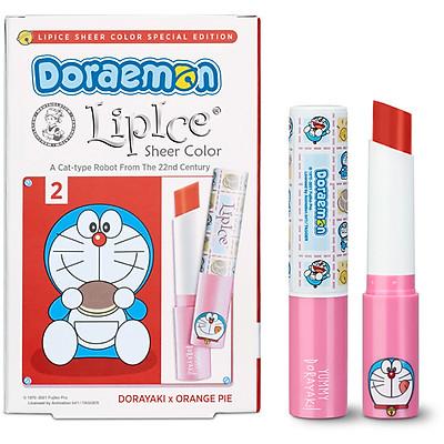 Son Dưỡng Có Màu Tự Nhiên LipIce Sheer Color x Doraemon 2.4g (Phiên Bản Giới Hạn)