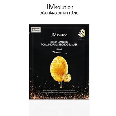 Mặt Nạ Thạch Mật Ong, Chống Lão Hóa Da JMSolution Honey Luminous Royal Propolis Hydrogel Mask Black 30g
