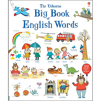 Sách tiếng Anh - Usborne Big Book of English Words