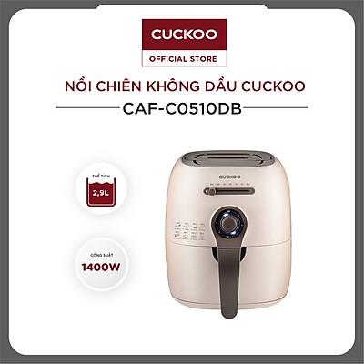 Nồi chiên không dầu Cuckoo CAF-C0510DB 2,9 lít 1400W - Hàng chính hãng