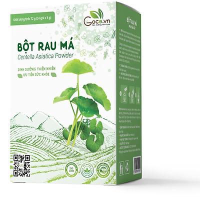 Bột rau má nguyên chất Goce - 72g (24 gói x 3g)