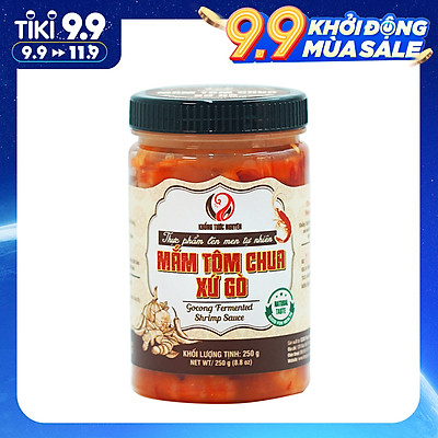 Mắm Tôm Chua Xứ Gò Khổng Tước Nguyên - Hũ 200gr - Foodmap