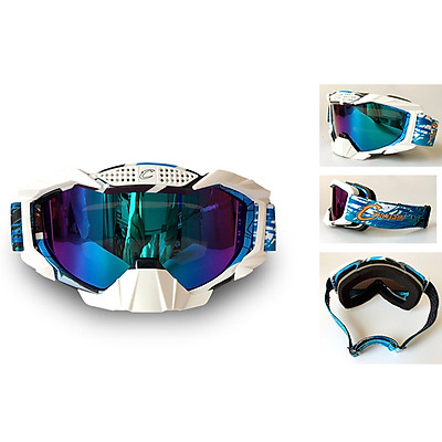 Riding Glasses Anti-Wind Goggles Blue Protection Colorful Outdoor Sports Mirror