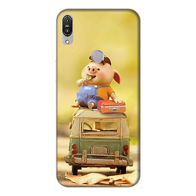 Ốp lưng điện thoại Asus Zenfone Max Pro M1 hình Heo Con Ham Ăn
