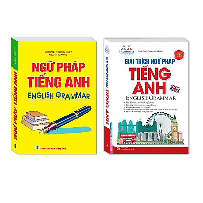 Combo Ngữ Pháp Tiếng Anh English Grammar , Giải Thích Ngữ Pháp Tiếng Anh English Grammar