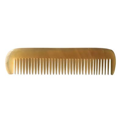 Lược Chải Tóc Sừng Trâu Cao Cấp L39 Nam Trắng (Dài 12,2cm x 3cm)