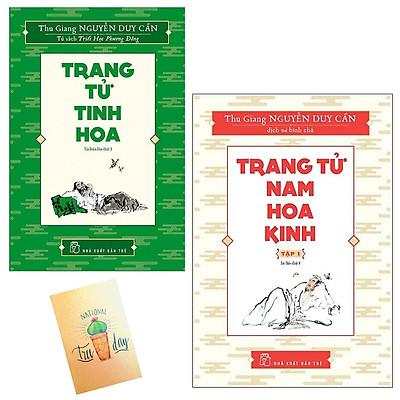 Combo Trang Tử Tinh Hoa và Trang Tử Nam Hoa Kinh(Tặng Kèm Sổ tay Xương Rồng)