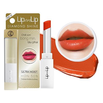 Son Nhũ Trang Điểm Dưỡng Tối Ưu Lip On Lip Diamond Shine 2.2g