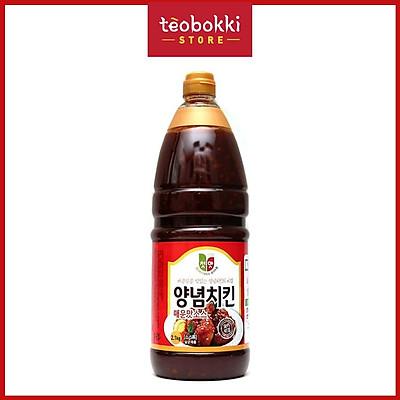 Nước sốt gà vị cay Chungwoo 2.1kg