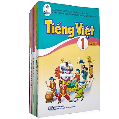 Sách Giáo Khoa Bộ Lớp 1 Cánh Diều - Sách Bài Học (Bộ 9 Cuốn) (2021)