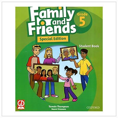 Family And Friends Special Edition 5 - Student Book (Dành Cho HS Học Từ Lớp 3) - Sách Không CD Kèm Thẻ Cào