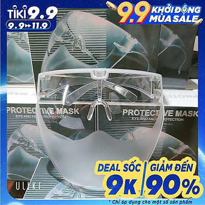Kính chống giọt bắn nhẹ nhàng ôm sát mặt, chống khói bụi, nắng gió, an toàn chống dịch - PKT fashion
