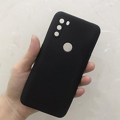 Ốp lưng dành cho Vsmart Active 3 silicon dẻo màu đen chống sốc cao cấp bảo vệ camera