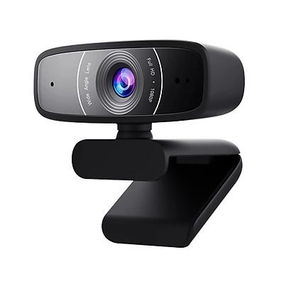 Webcam Asus C3 FullHD 1080p - Hàng Chính Hãng
