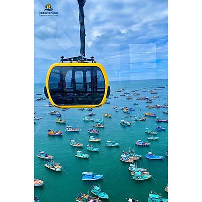 Vé Cáp Treo Hòn Thơm – Tuyến Cáp Treo Qua Biển Dài 7,9km Tại Phú Quốc