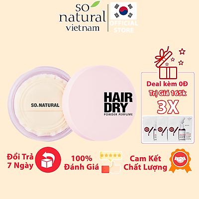 Phấn Gội Đầu Dạng Khô Hair Dry Powder Perfume So Natural 50gram ( Tặng sample Red Peel hoặc Sample Silk Collagen)