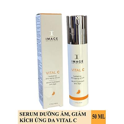 Serum giảm kích ứng, làm dịu da Image Skincare Vital C Hydrating Anti-Aging Serum
