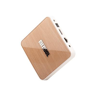 Android TV Box Mecool KM6 Deluxe Edtion - Amlogic S905X4, AndroidTV 10 CE, Ram 4GB, Bộ nhớ trong 64GB, Wifi 6 - Hàng chính hãng