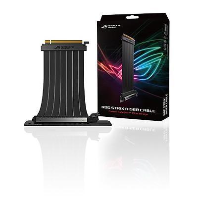 Cáp nối dài VGA ASUS ROG Strix Riser Cable 240 mm PCI-E 3.0 x 16 - Hàng Chính Hãng