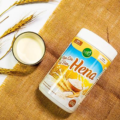Ngũ Cốc Lợi Sữa Hena 500g - Ngũ Cốc Bà Bầu với 100% Nguyên Liệu Hữu Cơ - Giúp Mẹ Bầu có Sữa Về Nhiều, Nhanh, Đặc Chỉ Sau 3 Ngày - Sản Phẩm Chính Hãng, Cao Cấp - Đã Được Kiểm Nghiệm và Công Bố