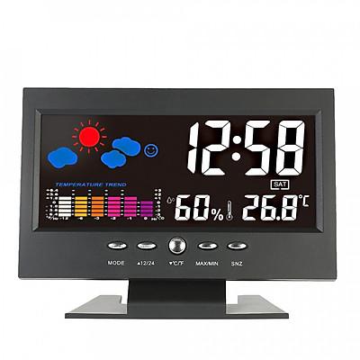 Máy Đo Độ Ẩm Nhiệt Độ Kỹ Thuật Số Đa Năng Có Đèn Nền LCD