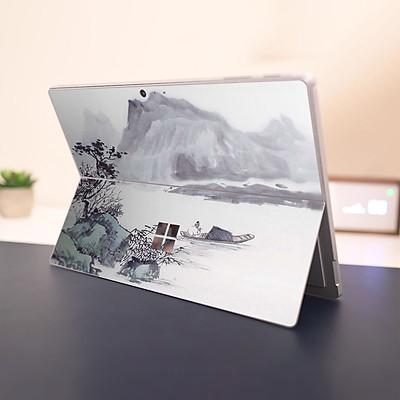 Skin dán hình Tranh thủy mặc cho Surface Go, Pro 2, Pro 3, Pro 4, Pro 5, Pro 6, Pro 7, Pro X