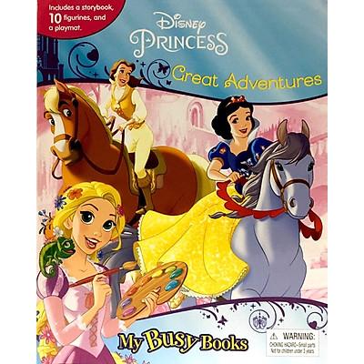 Disney Princess Great Adventures My Busy Book