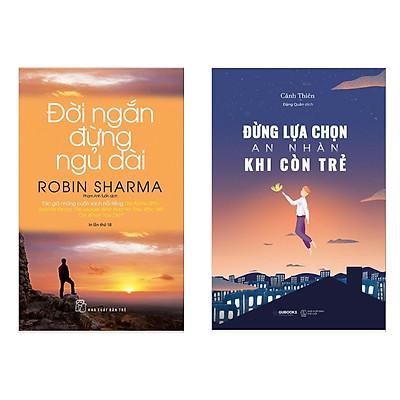 Combo 2 Cuốn Sách Tư Duy - Kỹ Năng Sống Hay: Đời Ngắn Đừng Ngủ Dài (Tái Bản) + Đừng Lựa Chọn An Nhàn Khi Còn Trẻ / Những Cuốn Sách Kỹ Năng Sống Bán Chạy Nhất (Tặng Kèm Bookmark Happy Life)